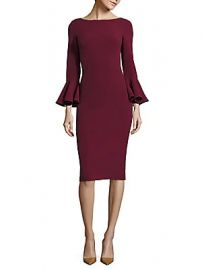 Michael Kors Collection - Bell-Sleeve Dress at Saks Fifth Avenue