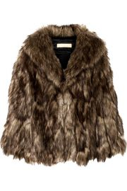 Michael Kors Collection - Faux fur cape at Net A Porter