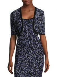 Michael Kors Collection - Floral Jacquard Shrug at Saks Fifth Avenue