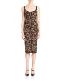 Michael Kors Collection - Illusion Lace Tank Dress at Saks Fifth Avenue