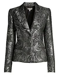 Michael Kors Collection - Metallic Paisley Brocade Jacket at Saks Fifth Avenue