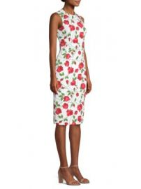 Michael Kors Collection - Rose Print Sheath at Saks Fifth Avenue
