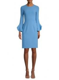 Michael Kors Collection - Ruffle-Sleeve Sheath Dress at Saks Fifth Avenue