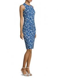 Michael Kors Collection - Sleeveless Floral Dress at Saks Fifth Avenue