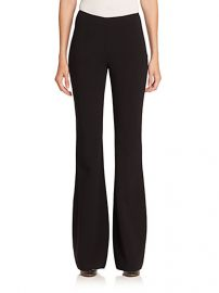 Michael Kors Collection - Stretch-Wool Crepe Flared Pants at Saks Fifth Avenue