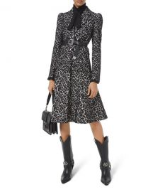 Michael Kors Collection Bonded Lace Puff-Sleeve Blazer at Neiman Marcus