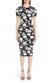 Michael Kors Stencil Rose Jacquard Dress at Nordstrom