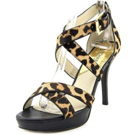 Michael Kors Womens Evie Open Toe Ankle Strap Platform Pumps at Amazon