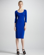 Michael Kors fitted crepe dress on Revenge at Neiman Marcus