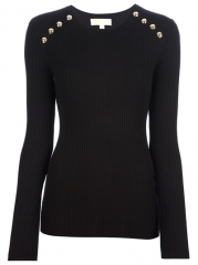 Michael Michael Kors Button Detailed Sweater - O at Farfetch