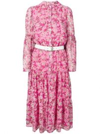 Michael Michael Kors Floral Flared Dress - Farfetch at Farfetch