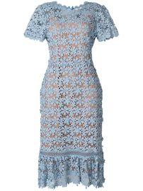 Michael Michael Kors Floral Lace Midi Dress - Farfetch at Farfetch