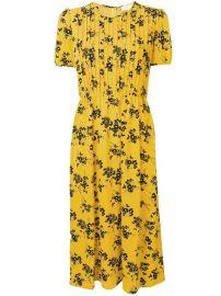 Michael Michael Kors Floral Print Midi Dress - Farfetch at Farfetch