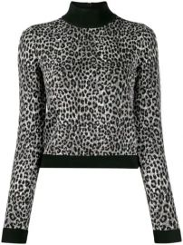 Michael Michael Kors slim-fit Animal Print Jumper - Farfetch at Farfetch