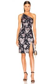 Michelle Mason Asymmetrical Dress in Midnight   Rose   FWRD at Forward
