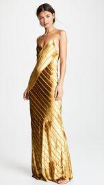 Michelle Mason Bias Velvet Gown at Shopbop