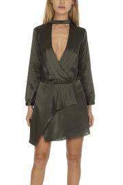 Michelle Mason Choker Mini Dress at Blue & Cream