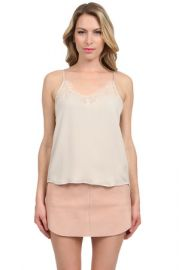 Michelle Mason Lace Cami at Couture Candy