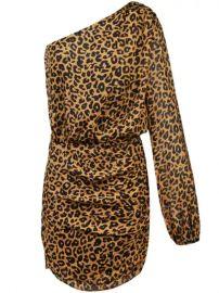 Michelle Mason One Sleeve Mini Dress - Farfetch at Farfetch