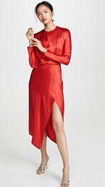 Michelle Mason Origami Midi Dress at Shopbop