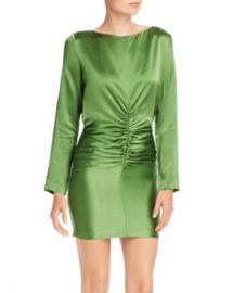 Michelle Mason Ruched Silk Mini Dress Women - Bloomingdale s at Bloomingdales