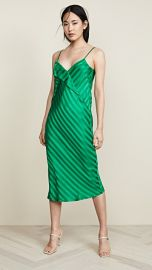 Michelle Mason Slip Dress with Lapel at Shopbop