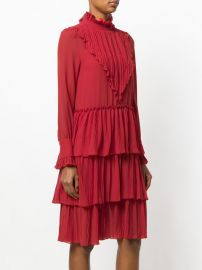 Micro knife pleated dress at Farfetch