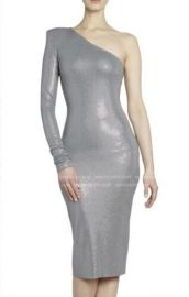 Microcrystal One Shoulder Dress by Alexandre Vauthier at Saks Fifth Avenue