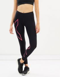 Mid-Rise Compression Tights by 2XU at The Iconic
