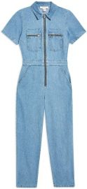 Mid Stone Boiler Suit by Topshop at Yoox