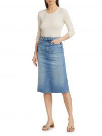 Midi Denim Skirt at Saks Fifth Avenue