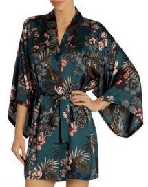 Midnight Bakery Tropical Floral-Print Robe  Women - Bloomingdale s at Bloomingdales