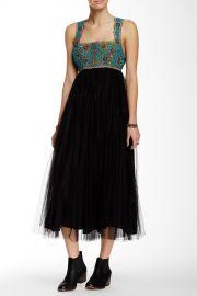 Midnight Fringe Maxi Dress at Nordstrom Rack