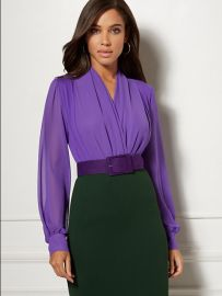 Mila Bodysuit - Eva Mendes Collection at NY&C