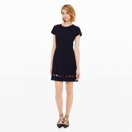 Milancey Dress in Navy at Club Monaco