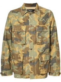 Military Shirt Jacket by Amiri at Farfetch