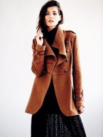 Military Wool Coat at Free People
