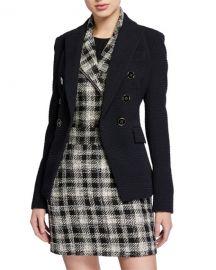 Miller Textured Dickey Jacket by Veronica Beard  at Bergdorf Goodman