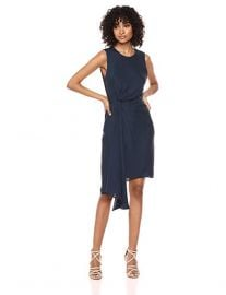 Milly Side Drape Dress at Amazon