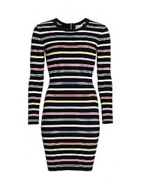 Milly - Multi-Stripe Knit Bodycon Dress at Saks Fifth Avenue