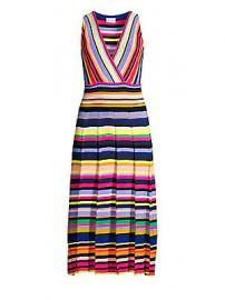 Milly - Surplice Stripe Knit Dress at Saks Fifth Avenue