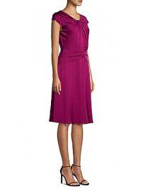 Milly - Tatiana Stretch Silk A-Line Dress at Saks Off 5th