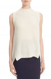 Milly  Cloud  Cashmere Blend Sleeveless Sweater at Nordstrom