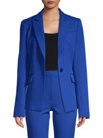 Milly Cobalt Blazer at Saks Fifth Avenue