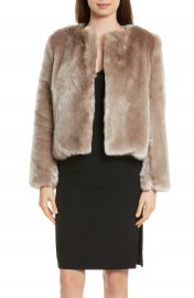 Milly Faux Fur Jacket at Nordstrom