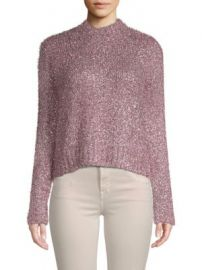Milly Fuzzy Sweater at Saks Off 5th