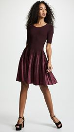 Milly Lurex Pleated Dress at Shopbop
