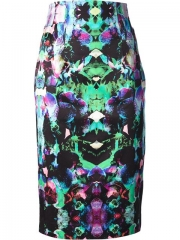 Milly Printed Skirt - Papini at Farfetch