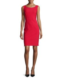 Milly Sleeveless Sheath Dress at Neiman Marcus