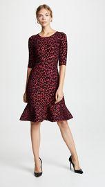 Milly Textured Cheetah Mermaid Dress at Shopbop